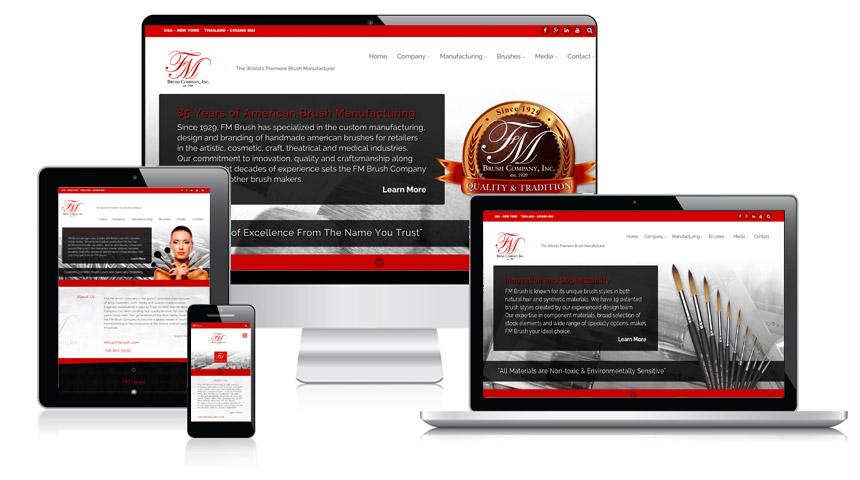 FM Brush Company Website at FMBrush.com